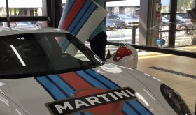 Porsche GT3 met Martini striping