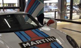 Porsche GT3 met Martini striping