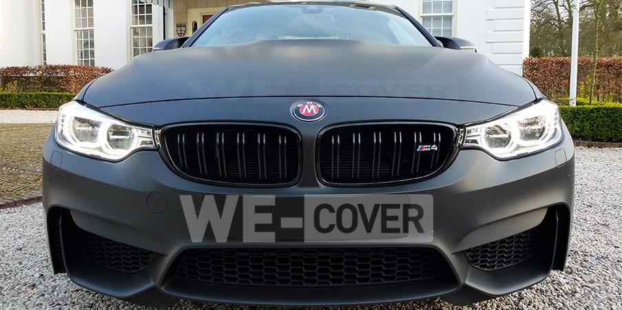 BMW M4 carwrap
